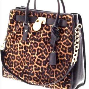 Michael Kors large Hamilton handbag.